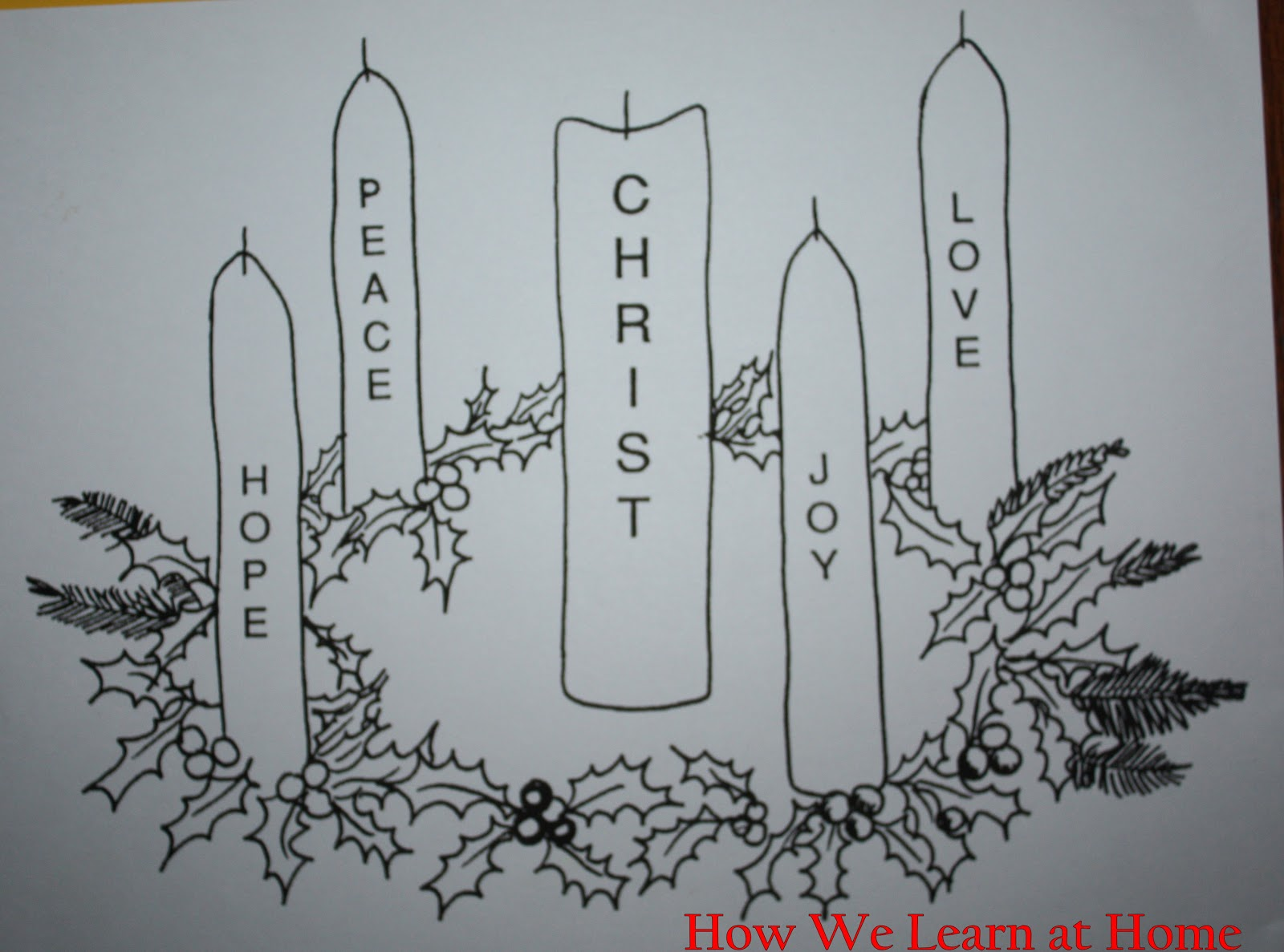 Advent coloring pages free printable search results for Children s advent coloring pages