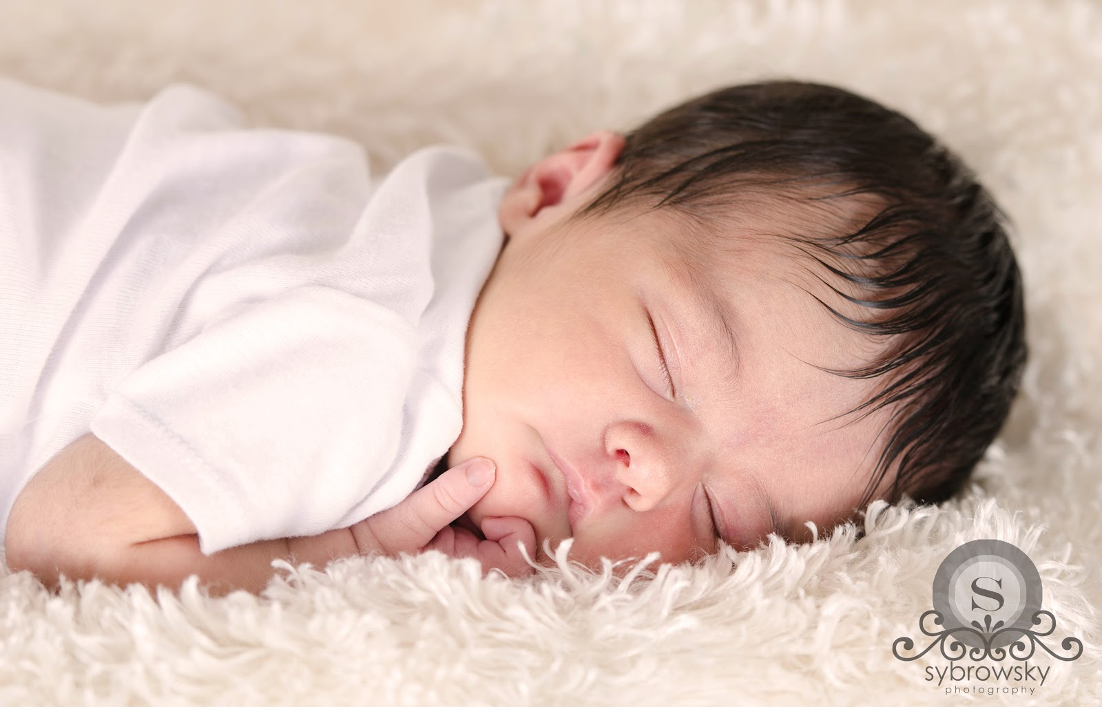 Newborn Baby Girl Dark Hair Dark Haired Newborn Ba...