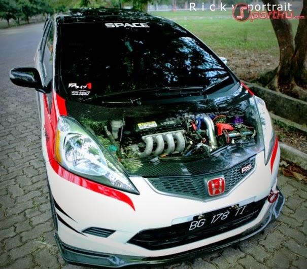 modifikasimobil Honda jazz 2014