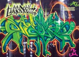 Kumpulan gambar-gambar grafiti Paling Keren dan Funky