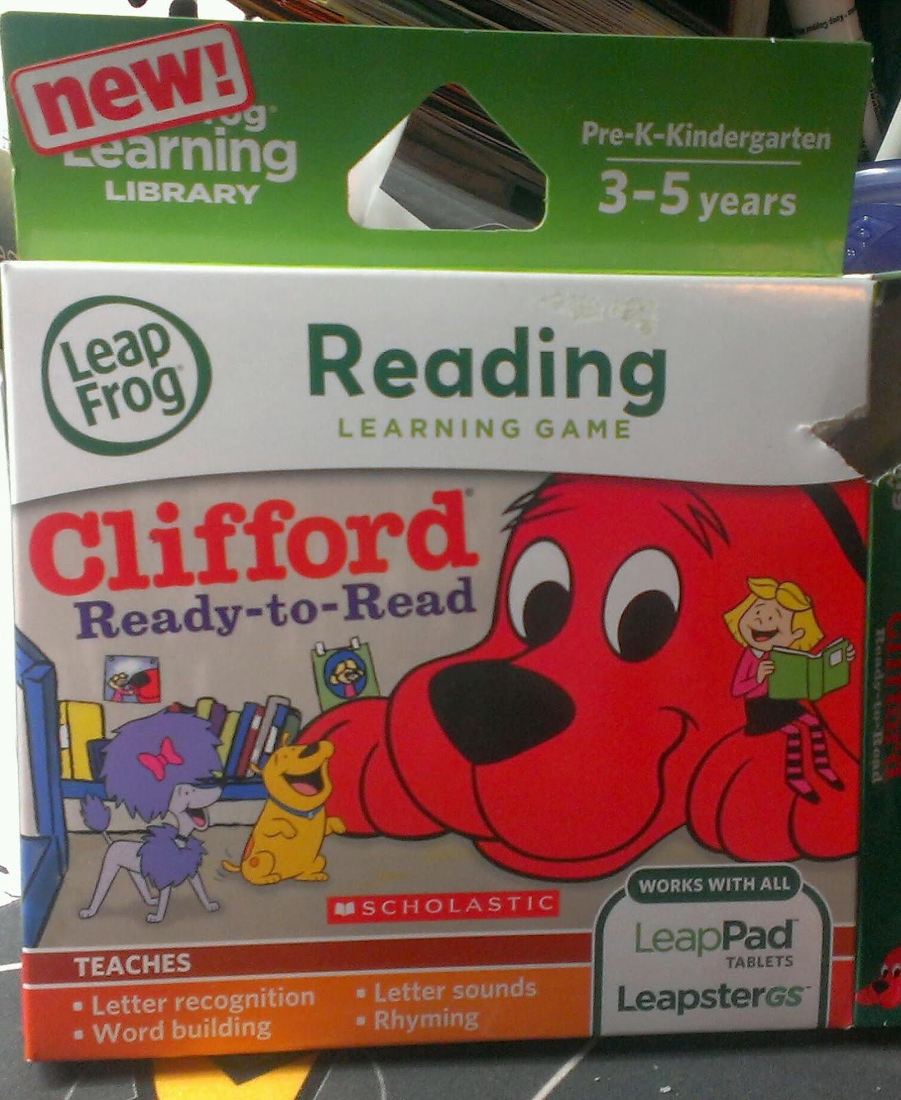 Clifford Ready-to-Read Game