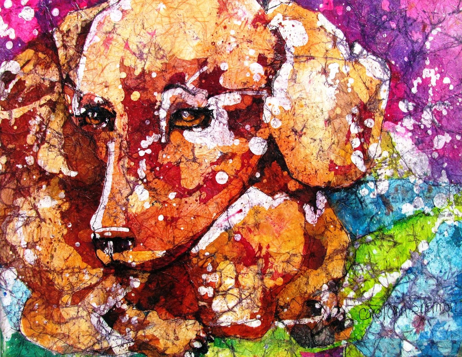 ... of Sarasota: Learn to Create Beautiful Watercolor Batik on Rice Paper