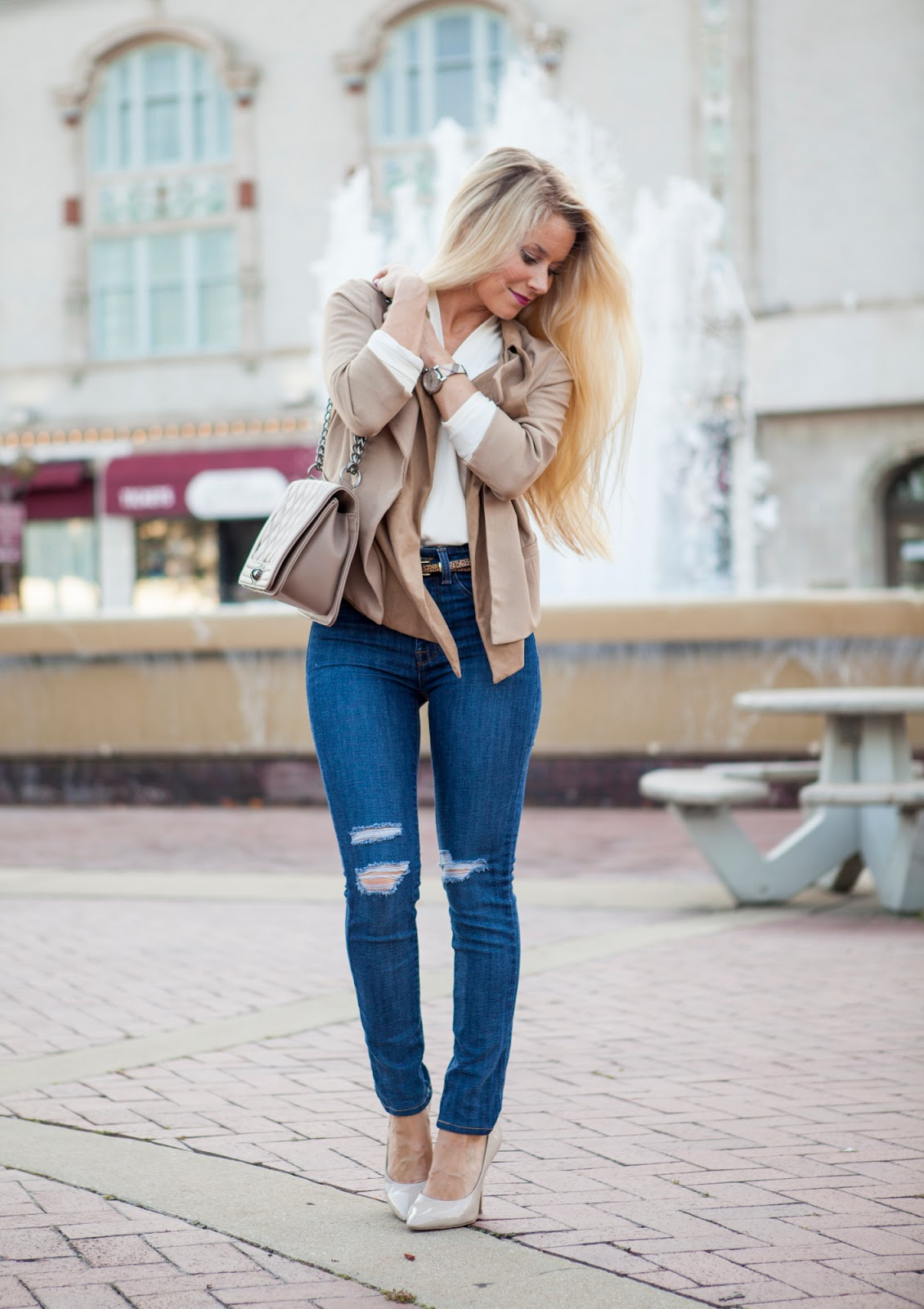 12a48ab042 Business Casual Outfit - Welcome to Olivia Rink