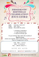 Residents' Birthday Celebration