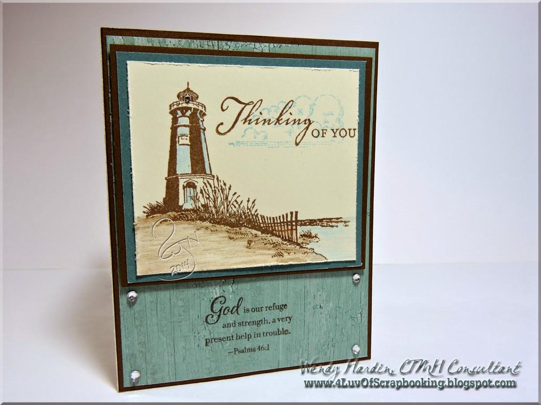4 Luv Of Scrapbooking Seaside Greetings Sympathy Card
