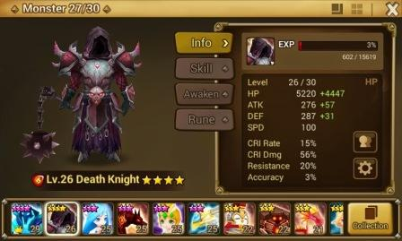 Trik Mendapatkan Summon Monster 4 Death Knight Summoner War Gratis
