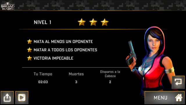 Squad wars Death division Android 1.6.0 Full Español