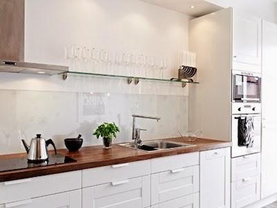 COCINA: Frentes de cocina de cristal
