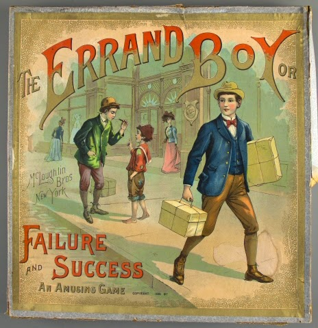 the errand boy or failure and success