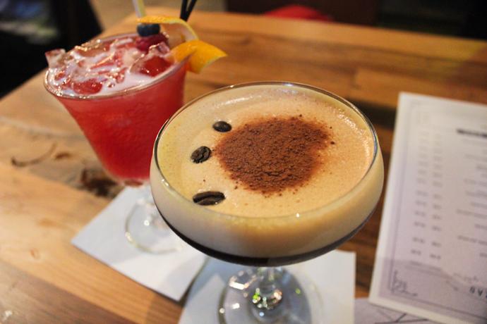 Cocktails at Slate NQ Bar Leeds