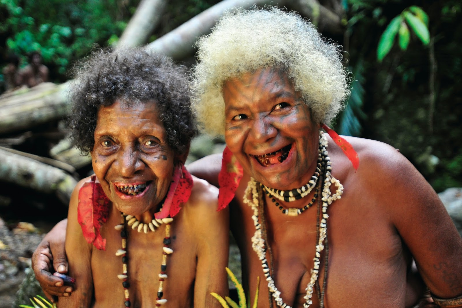 Traditional Tufi Tribal Ladies