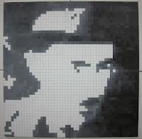 Fernando Pessoa: Pintura Quadrículas 9