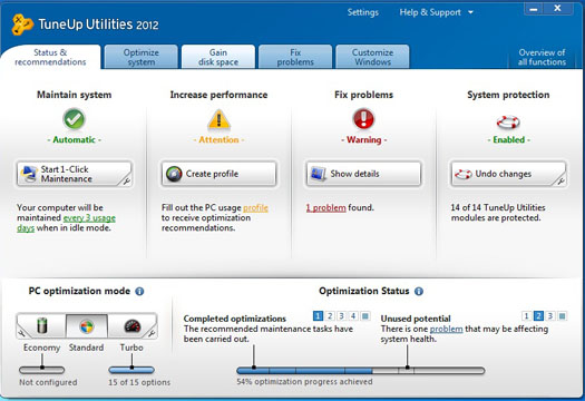 TuneUp Utilities 2012 Full