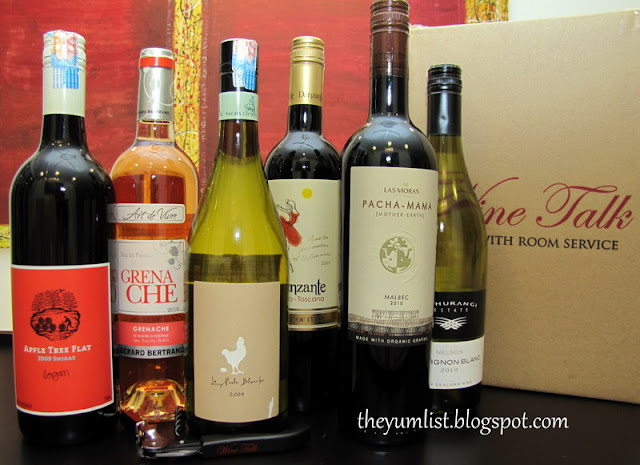 Pressroom, sommelier, room services, wine delivery Kuala Lumpur