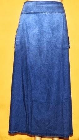Grosir Rok Jeans Warna Gradasi RM265