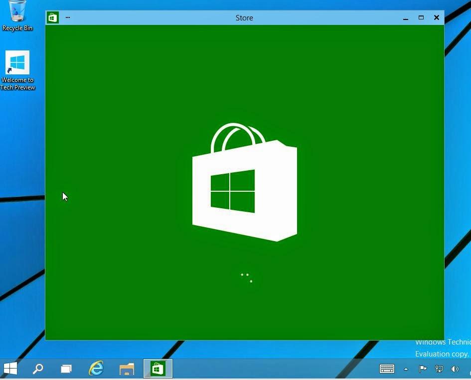 Tutosproc premi re approche de windows 10 technical preview - Bureau virtuel windows 7 ...