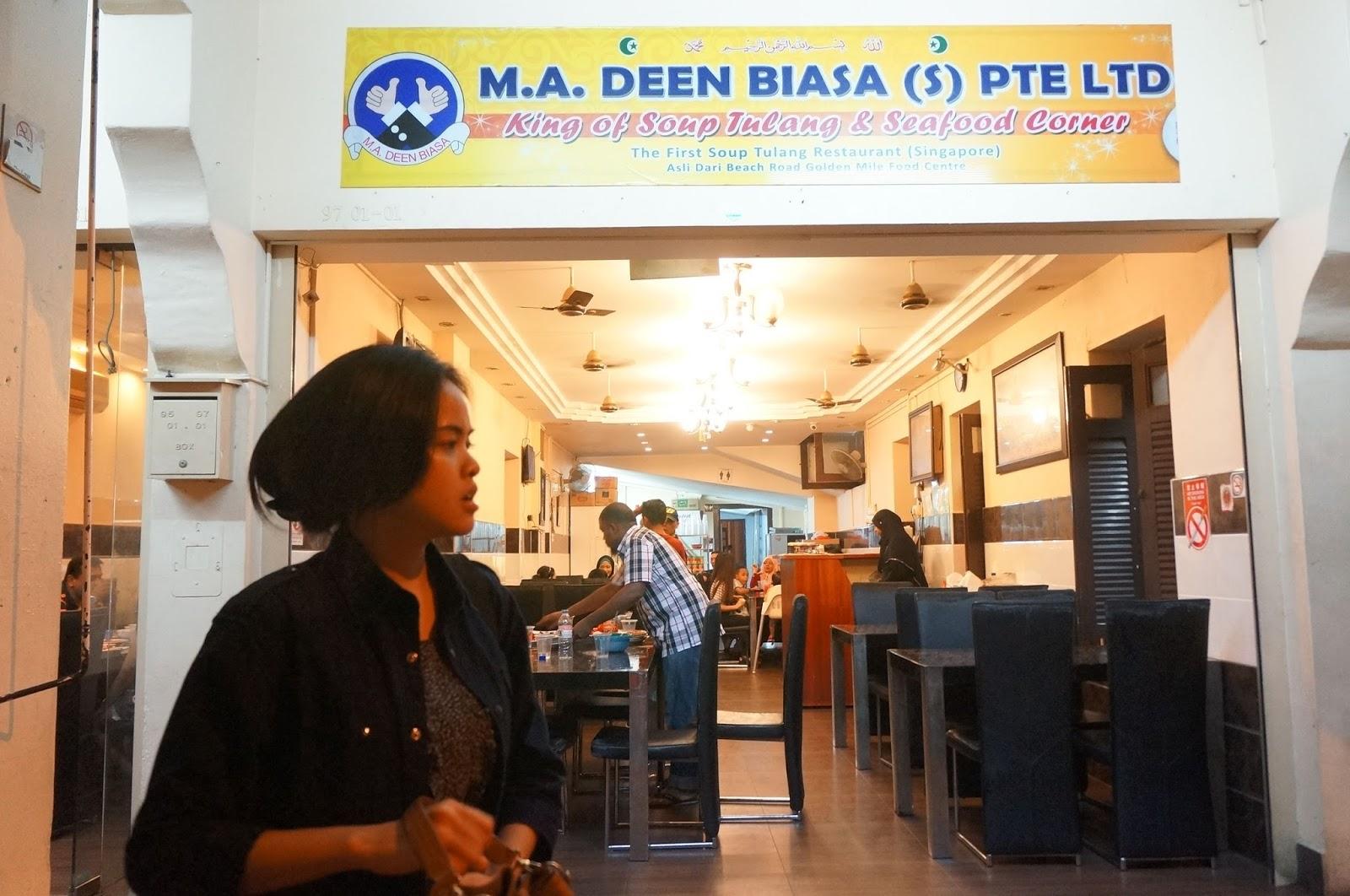 Pecinta Martabak Wajib Mampir Ke Resto Zam Di Daerah Bugis Kampong Glam Seberang Masjid Sultan Kami Pernah Beli Nasi Goreng Mi Dan