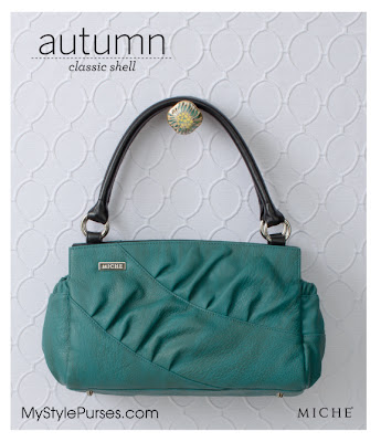 Miche Autumn Classic Shell -Teal Purse
