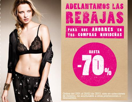 WOMEN SECRET REBAJAS 2012