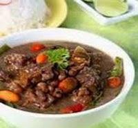 Resep Praktis Masakan khas jawa sayur brongkos daging sapi