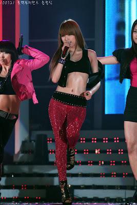 Hyuna 4minute Sexy Abs Body