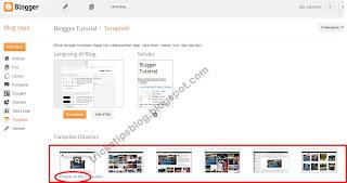 Cara Mengganti dan Upload Template Blog