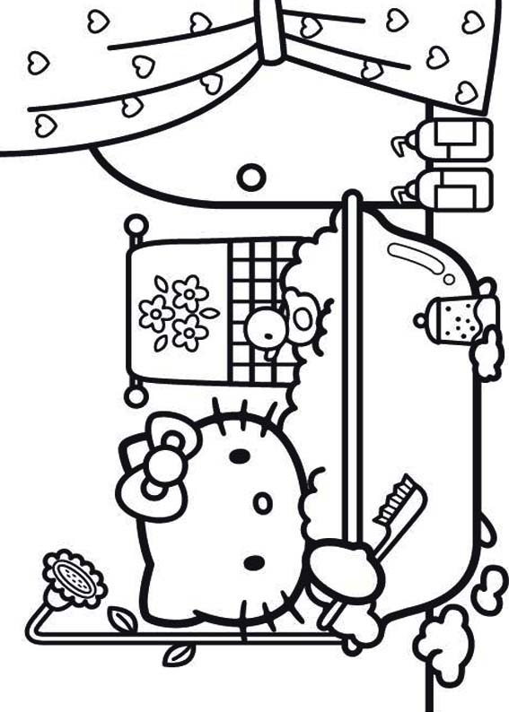 Desenhos Para Colorir Hello Kitty Pets