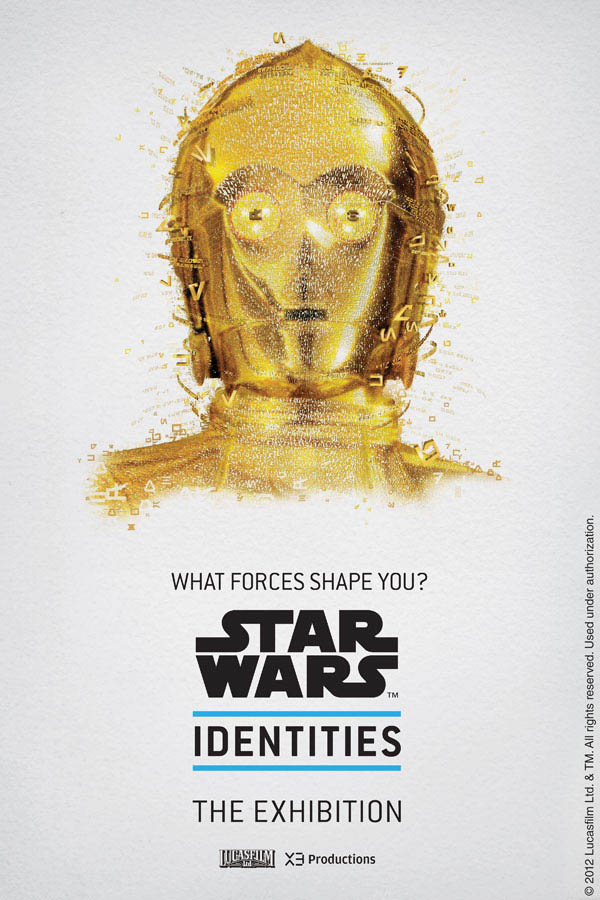 Star Wars Identities by Louis Hébert - C-3PO