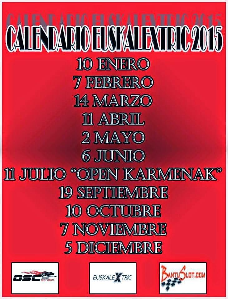 Campeonato 2015 Calendario
