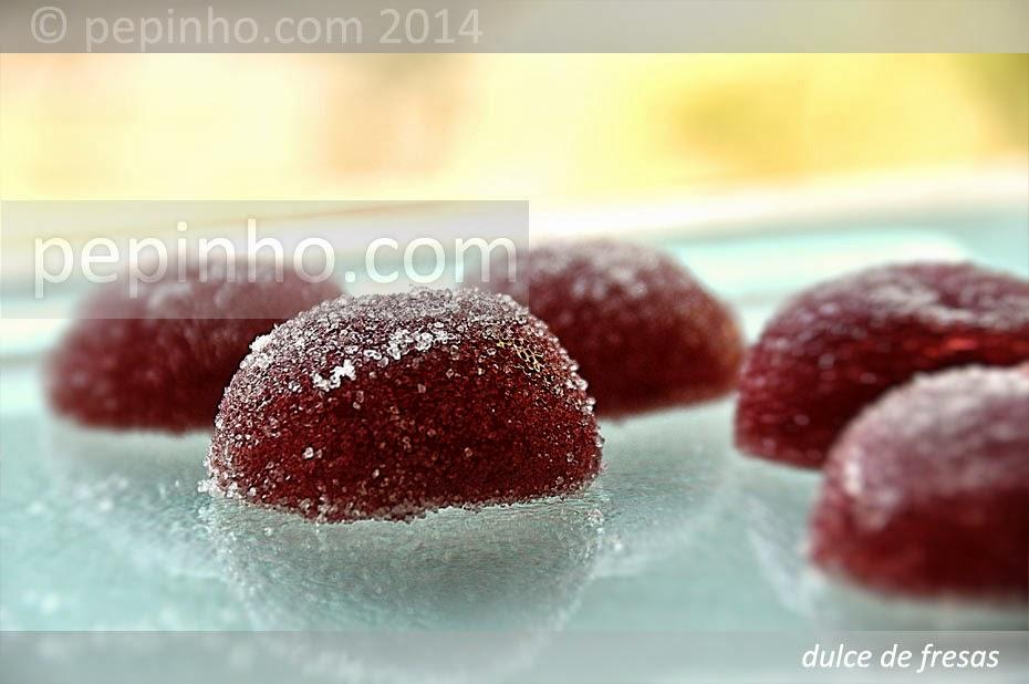 Dulce de fresas