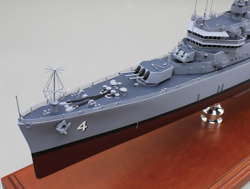 Standley cg 32 belknap class guided missile cruiser us