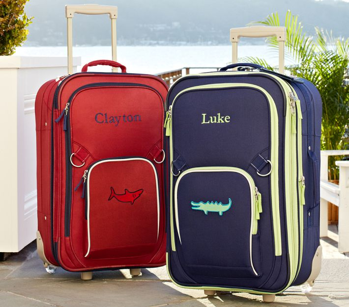 Kids Personalized Luggage On Wheels | Luggage And Suitcases