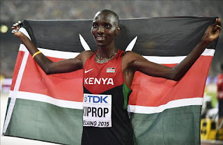 ATLETISMO - Kiprop pone colofón al festival keniano con su tercer oro en 1.500