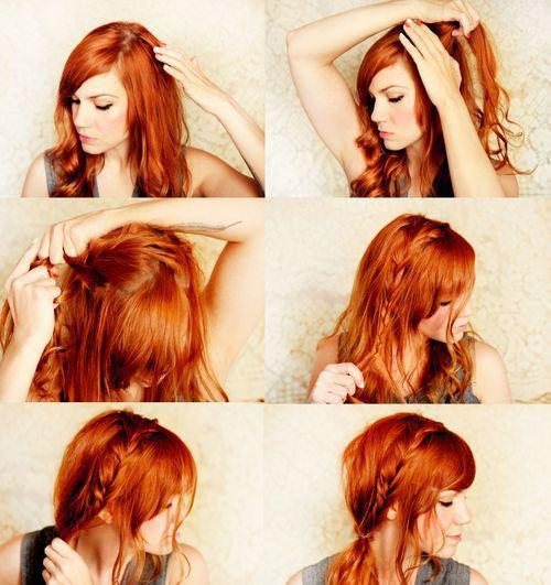 penteado lindo