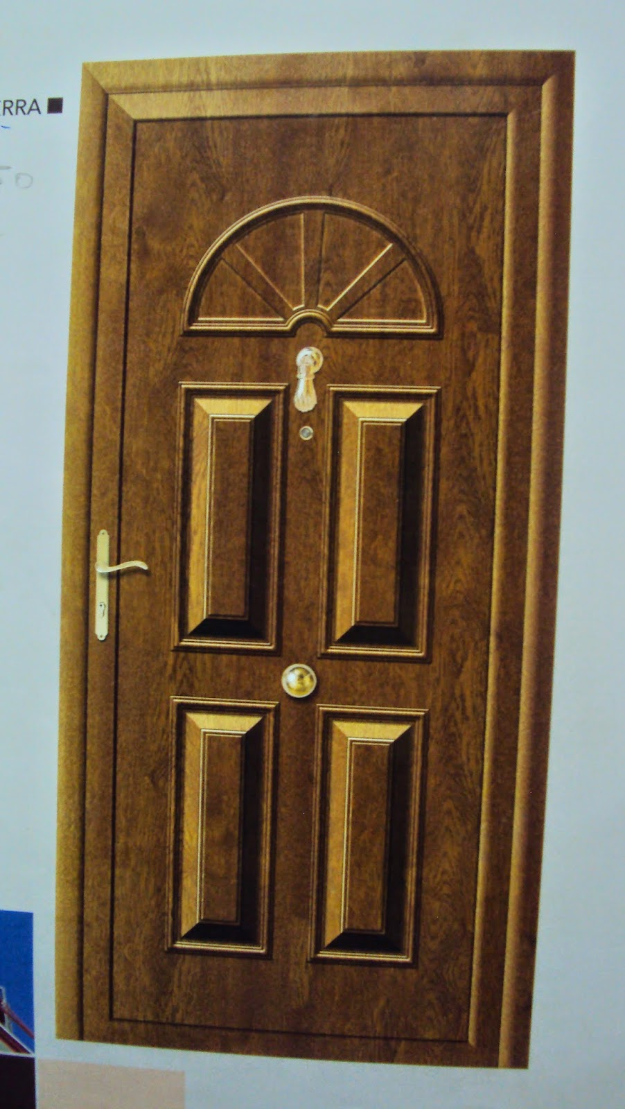 Aluminio y cerrajer a abel y cesar santiuste de san juan - Puertas de aluminio color madera ...