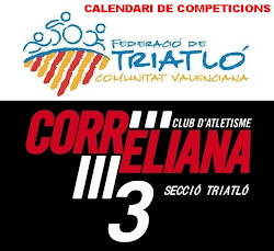 CALENDARIO COMPETICIONES TRIATLÓN