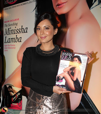Minissha Lamba Lunches Cover Page of Maxim