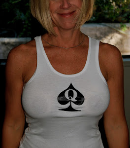 Queen of Spades tank top