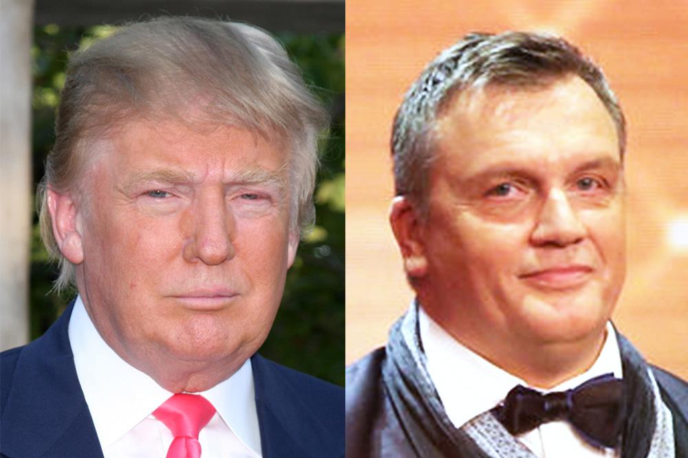 Donald Trump and Hape Kerkeling has never been seen in the same room
