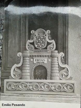 Emilio Pesando. Galleria del Traforo del Frejus. 1957