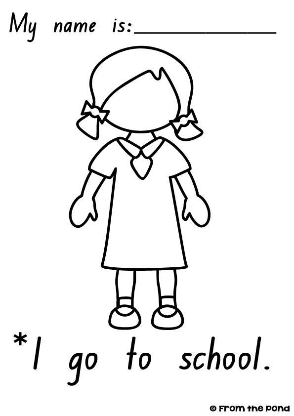 math worksheet : frog spot january 2013 : School Worksheets For Kindergarten