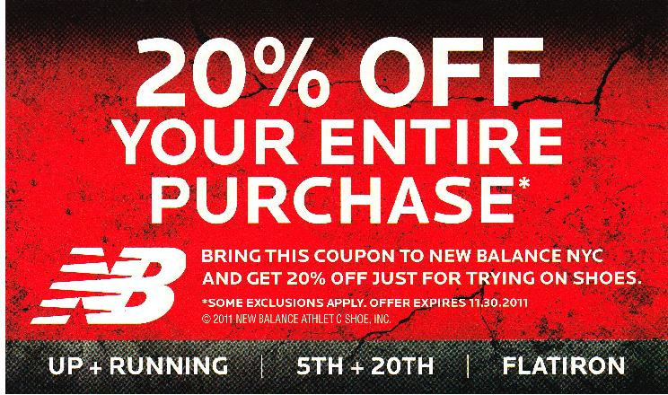 joes new balance outlet New Balance Coupons Printable 2011