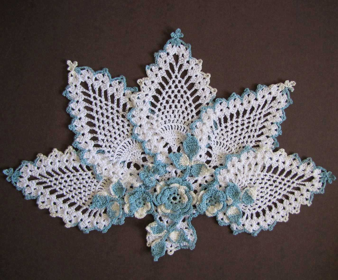Free Crochet Patterns For Butterfly Doilies : BellaCrochet: November 2012