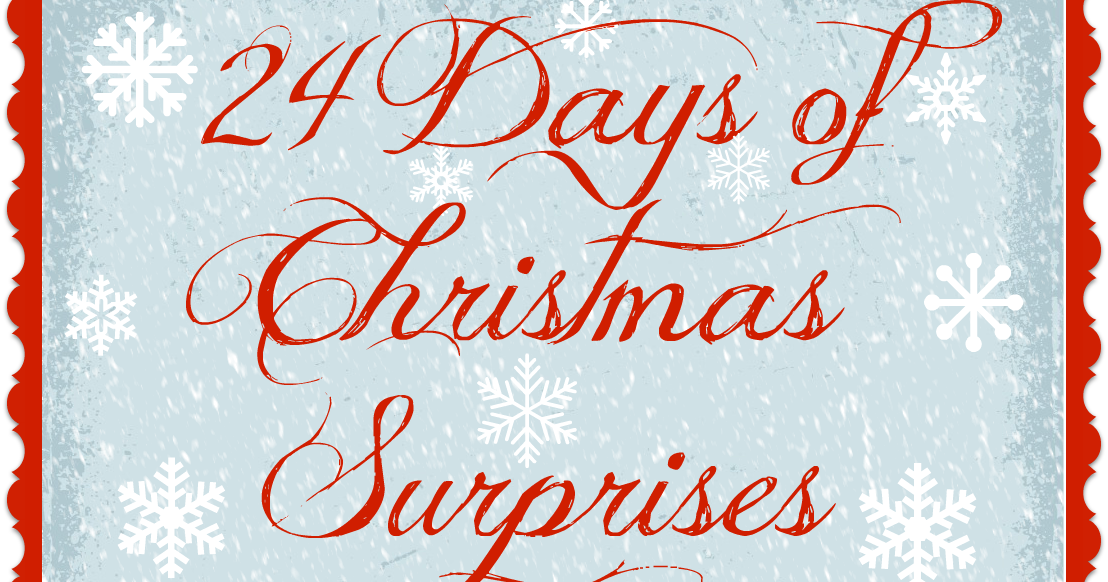 24 days of christmas surprises