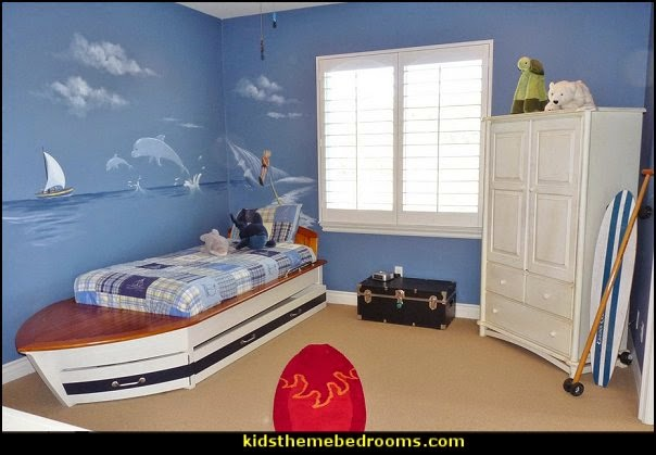 Speed Boat Trundle Bed. Decorating theme bedrooms   Maries Manor  theme beds   novelty