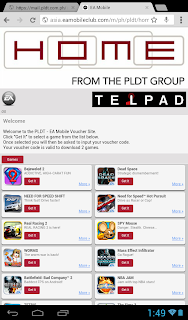 PLDT Home gift voucher codes PIN MIN app content