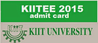 KIITEE 2015 Admit Card Download