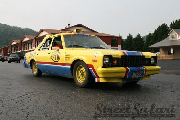 MFP Mad Max Lemon Art Car In Hot Pursuit