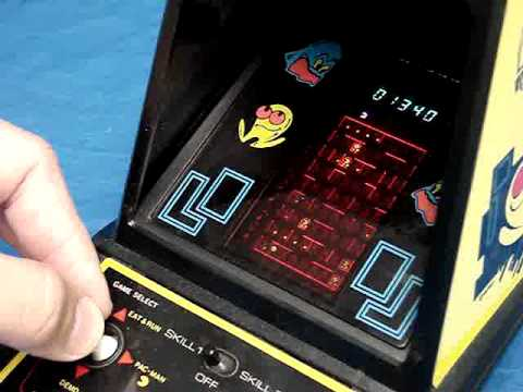 Fourth Grade Nothing Coleco Tabletop Pac Man Game