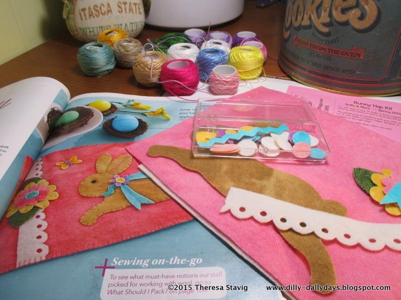 I Pulled Out My Stash Of Pearle Cotton And Got Busy Love Doing Wool Applique But Least Favorite Part Is Tracing Cutting